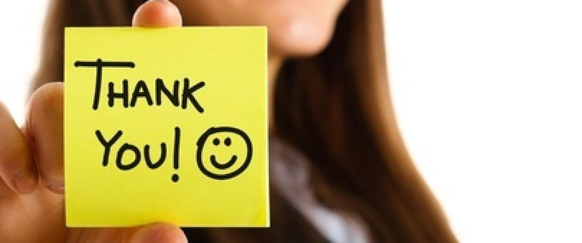 Bedankt tekst: zo schrijf je onvergetelijke bedankkaartjes!