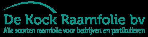 De kock raamfolie logo