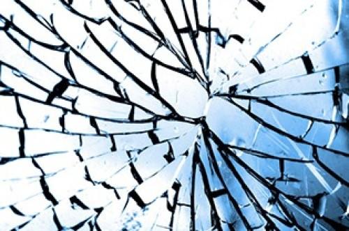 Anti vandalisme folie voor glas