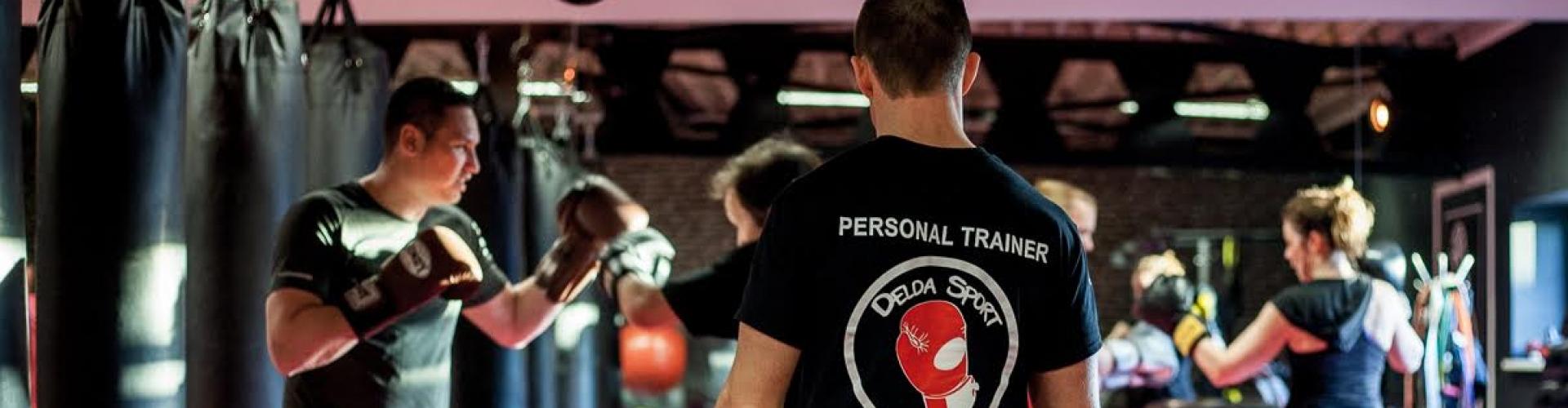 Foto tijdens training bij Delda Sport personal training Amsterdam