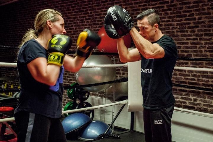 Kickboksen Amsterdam met personal trainer