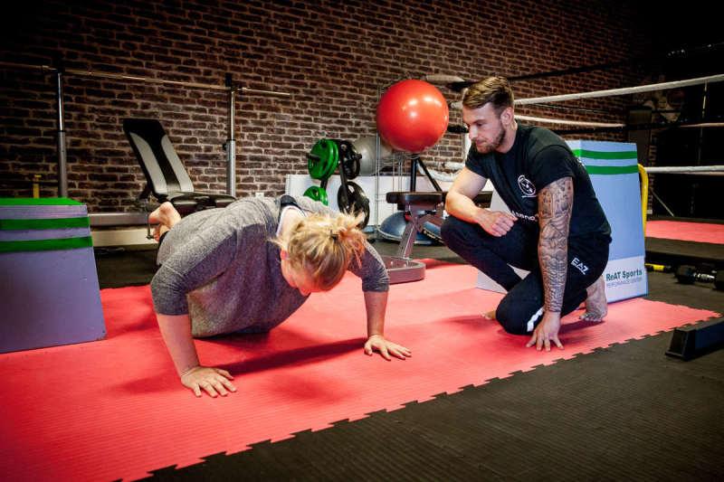 Privéles kickboksen personal trainer