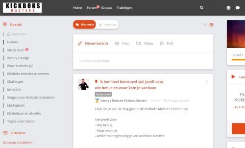 Kickboks Masters community