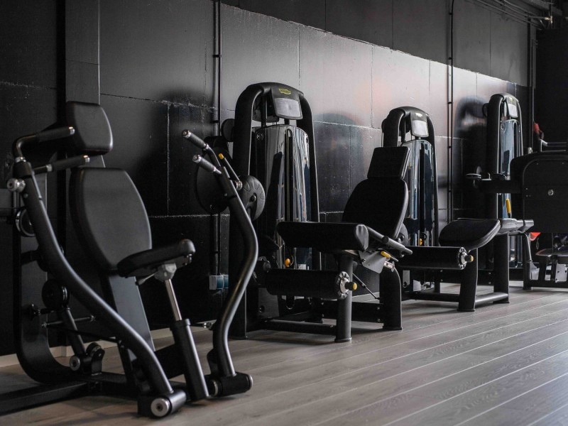 Fitness apparatuur personal trainer