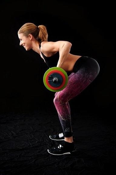 Slanke benen training