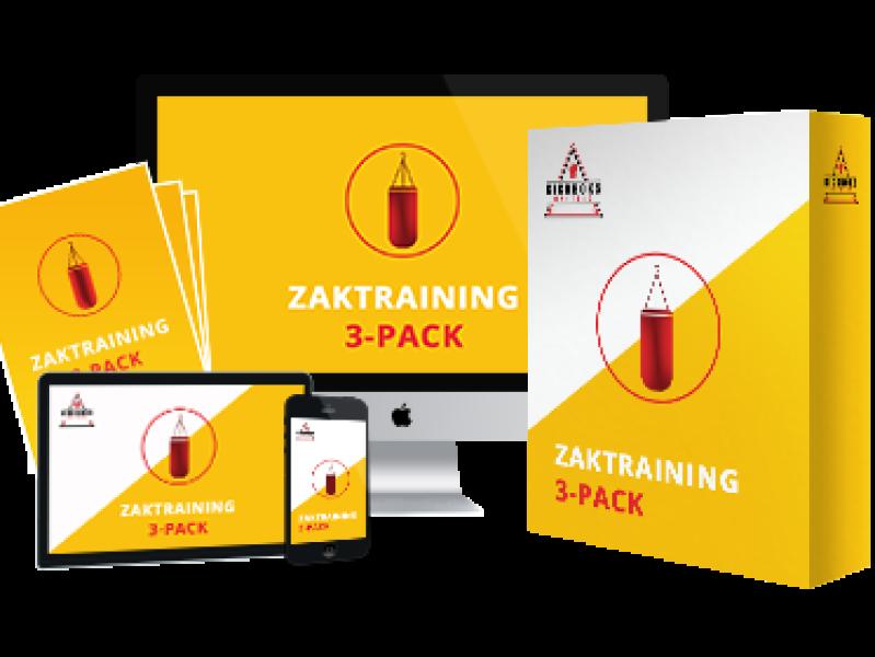 Zaktraining 3-pack