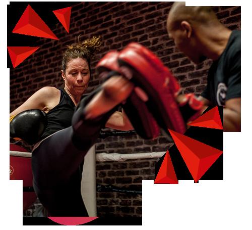 Kickboksen met personal trainer Amsterdam