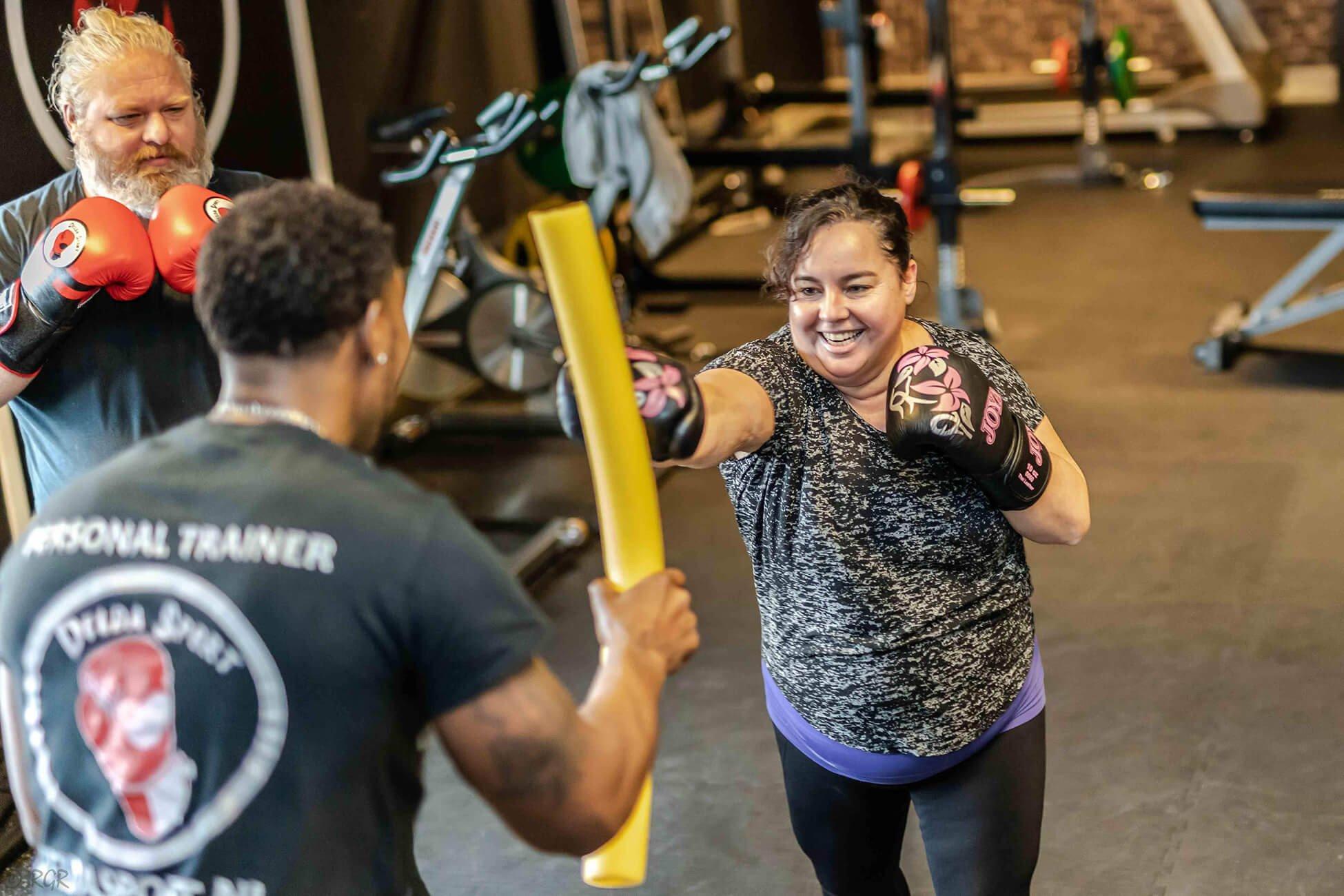 Fit en slank worden met personal trainer