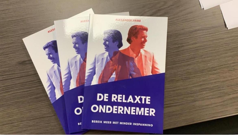 boeken relaxte ondernemer alexander heine