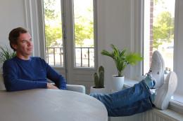 Alexander relaxt ondernemen
