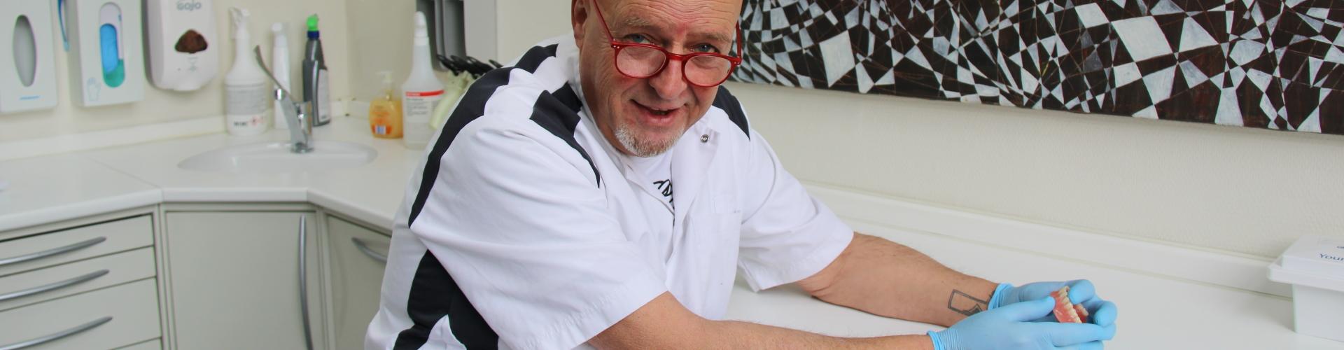 Frank partiele prothese De Saense Tandmeesters