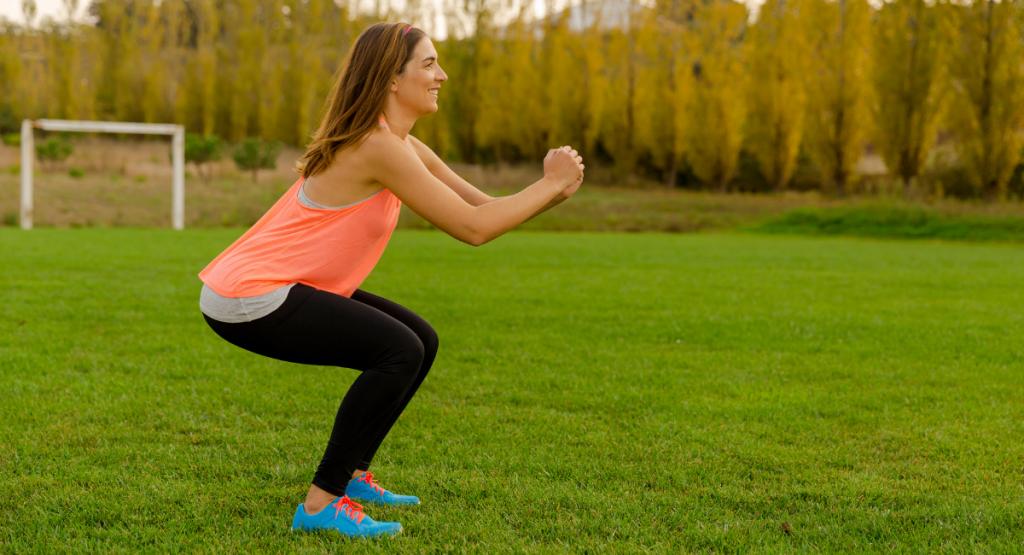 De belangrijkste bewegingen - squat