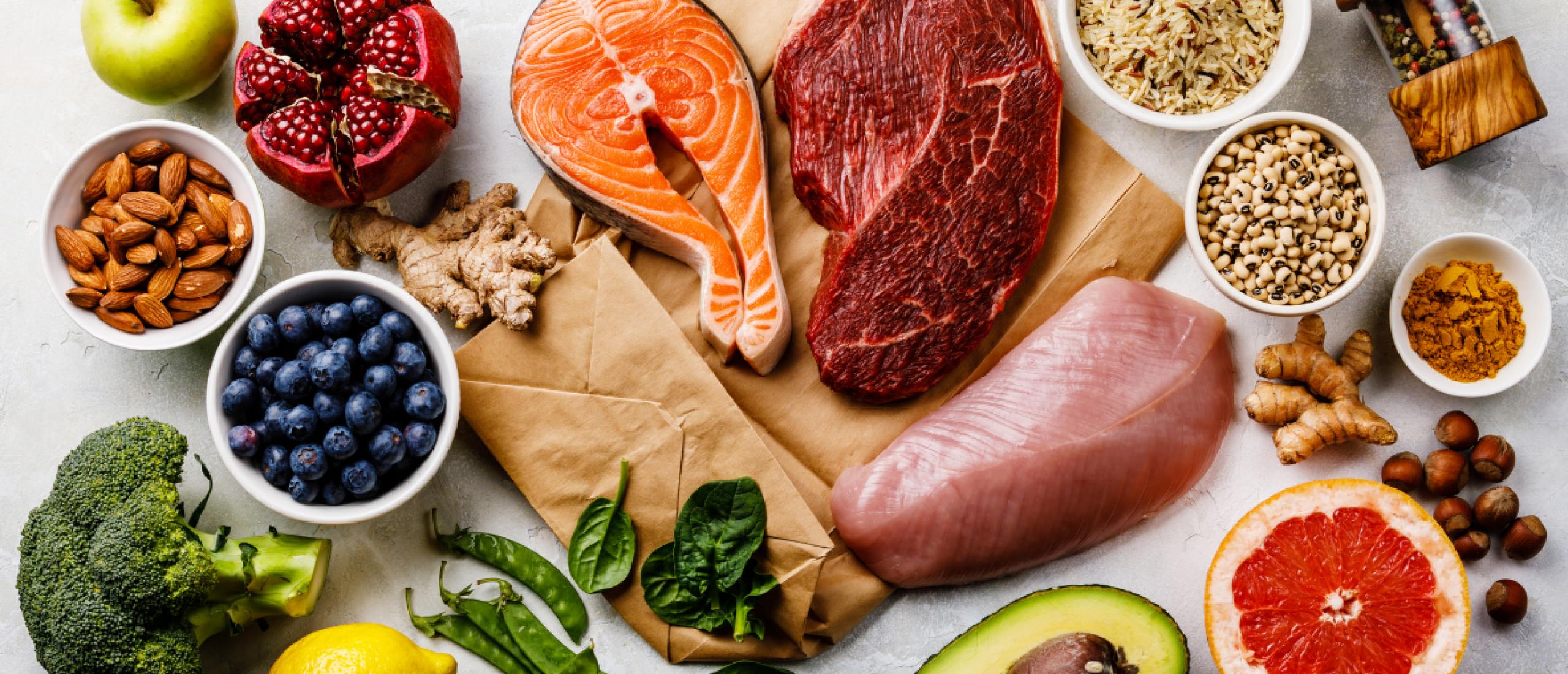 Eiwitrijke voeding en producten
