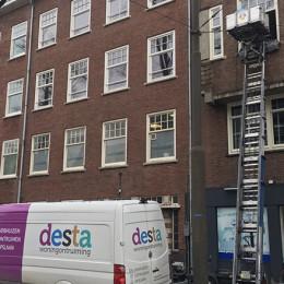 verhuislift nodig ontruimen Amsterdam