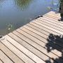 Houten vlonders en steigers reinigen - specialist - De terraskoning