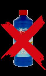 Oprit reinigen met bleekwater, oprit reinigen met javel