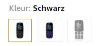 Amazon product varianten