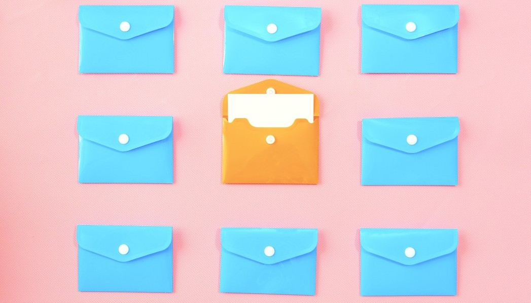 Platte tekst e-mail of rijke opmaak