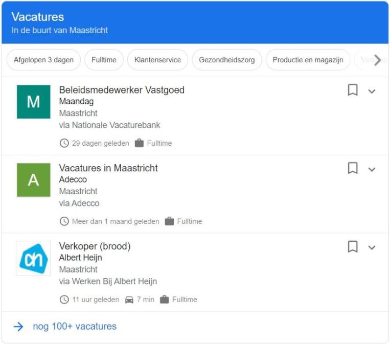Google for Jobs platform