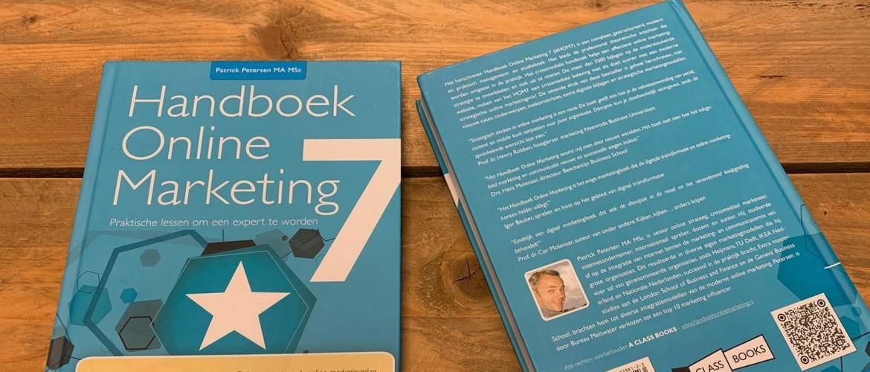 Handboek Online Marketing 7 (HOM7) met expert case van Marc de Groot