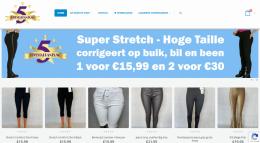Webshop van Fivestarpants