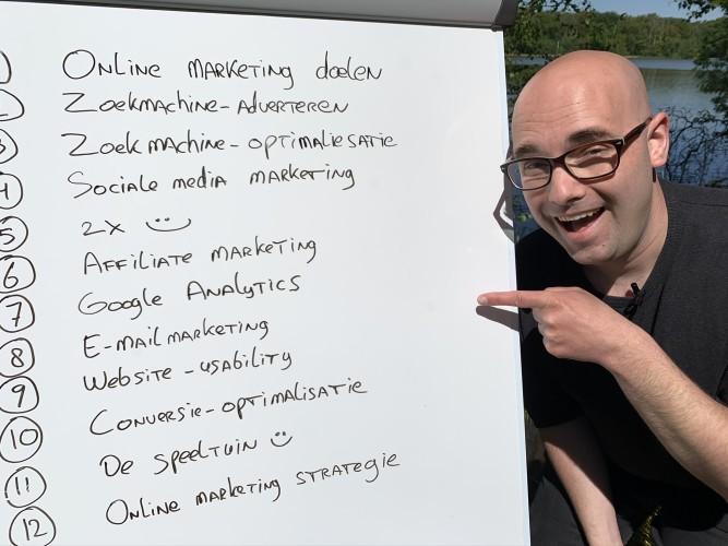 Het programma van onze online lessen