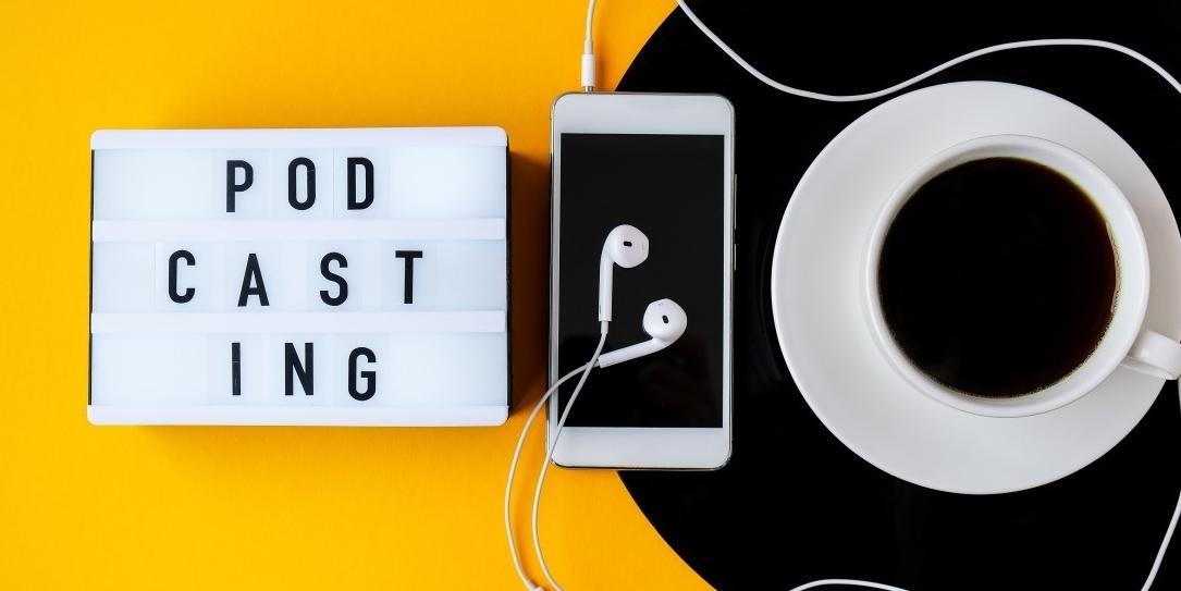 Maak een podcast over marketing