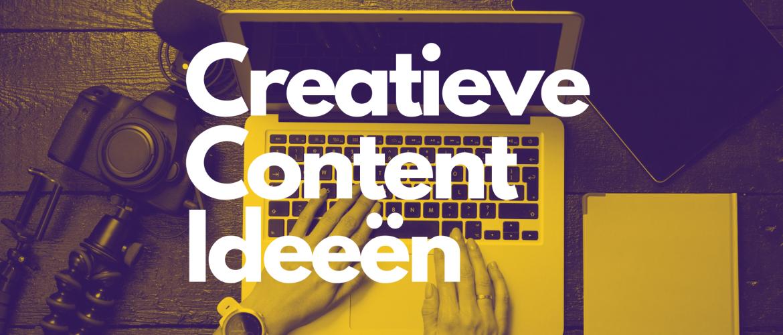 52 creatieve content ideeën voor 2021