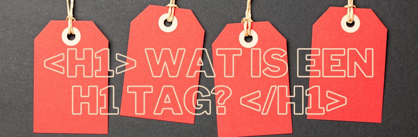Wat is een H1 tag?