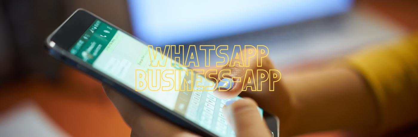 Wat is de Whatsapp business-app?