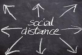 Diabetes en Corona social distance