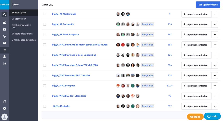 Tool Mailblue om e-mails geautomatiseerd uit te sturen
