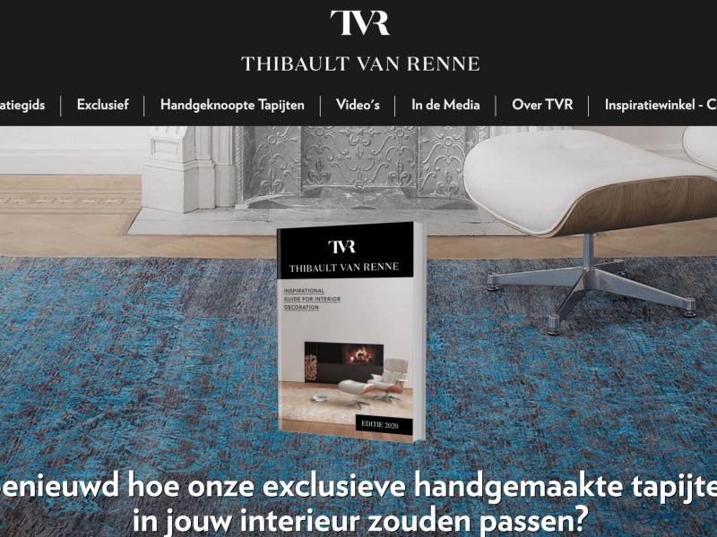 Klant: Thibault Van Renne producten luxe tapijten