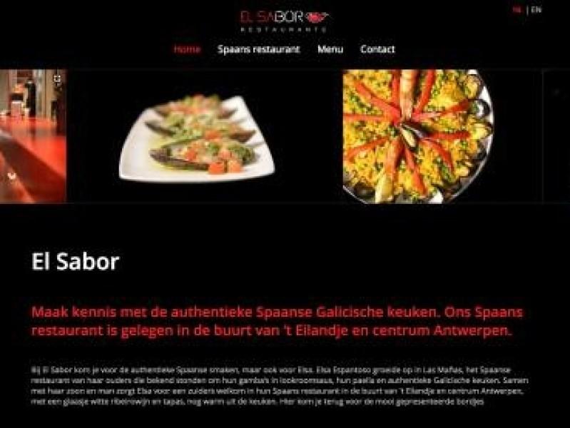 Klant: El Sabor Spaans restaurant