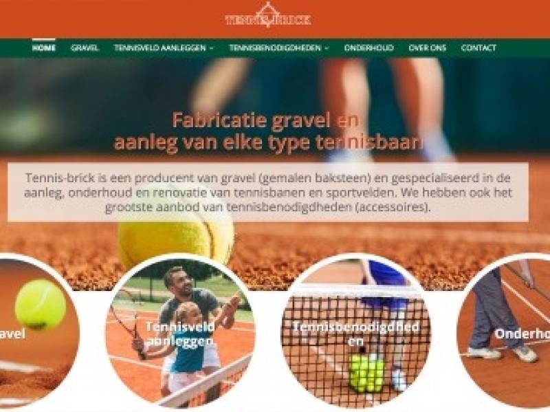 Klant: Tennisbrick - Aanleggen tennisbanen