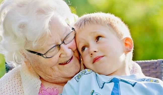 senioren kinderoppas
