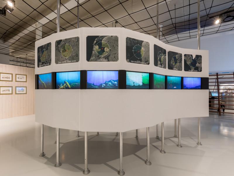 Impressie project Afsluitdijk Wadden Center