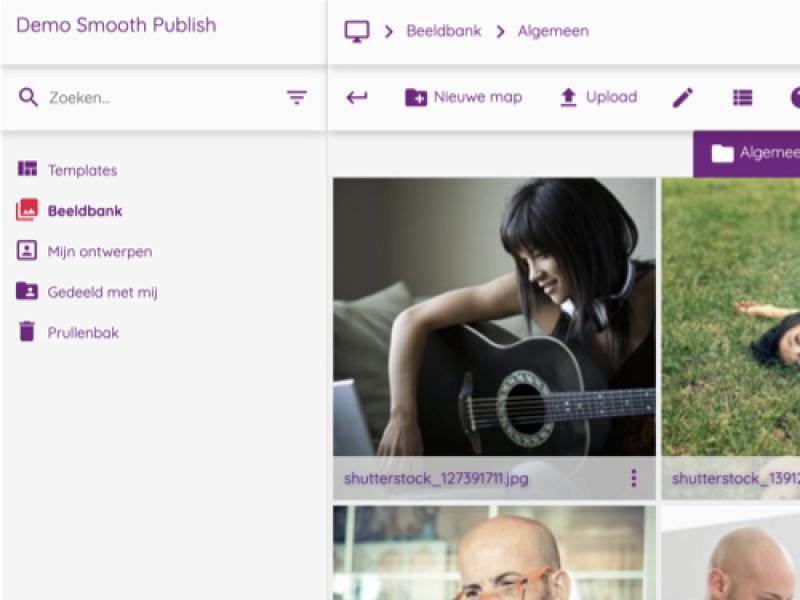Link naar Smooth Publish productpagina