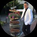 Bruiloft DJ Johan Post inhuren of boeken voor huwelijksfeest hier klaar voor trouwfeest in het Witte Hof te Haastrecht