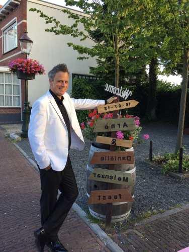 Bruiloft DJ Johan Post inhuren of boeken voor Houten, Koperen, Zilveren, Robijnen of Gouden huwelijksfeest of -jubileum zoals hier in het Witte Hof te Haastrecht