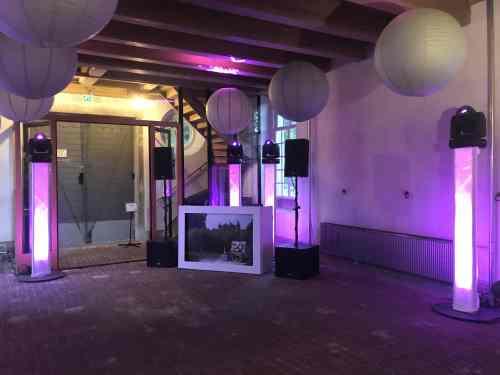 DJ Bodegraven huren DJ Johan Post boeken zoals hier in het Linker Arsenaal personeelsfeest