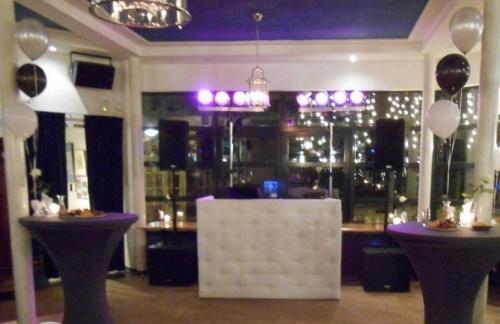 DJ-show met DJ Johan Post in Delft bij Het Rieten Dak