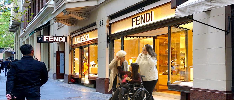 Winkelen als rolstoelgebruiker