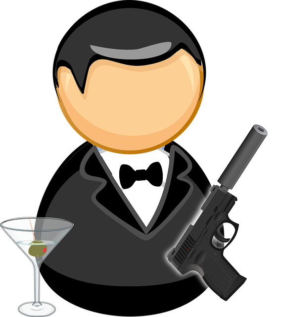 James Bond spelen