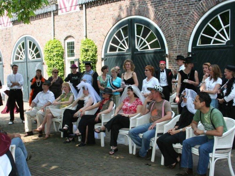 Bedrijfsevent vol teamspirit- Italiaanse bruiloft