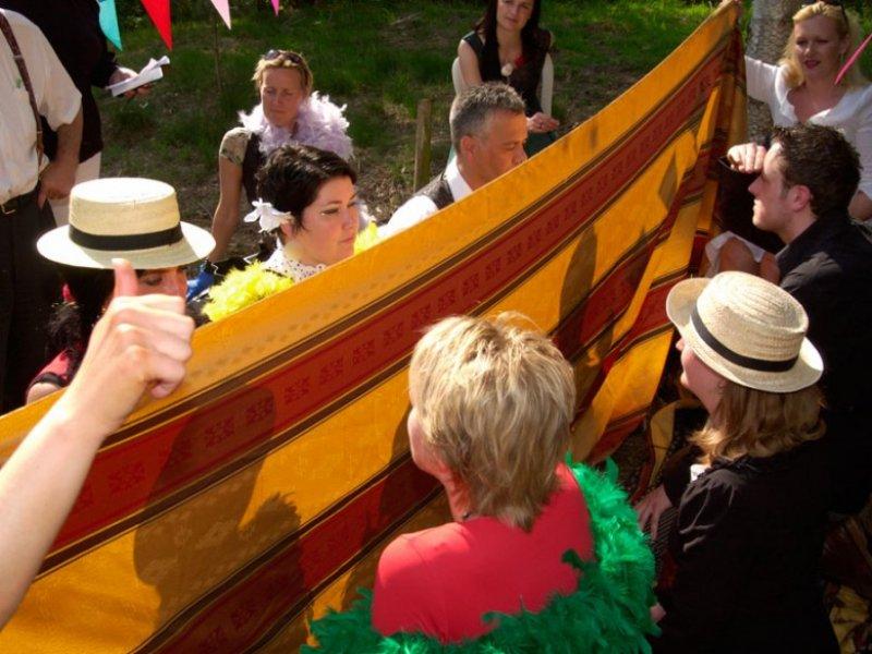 Maffia bedrijfsuitje - Italiaanse bruiloft