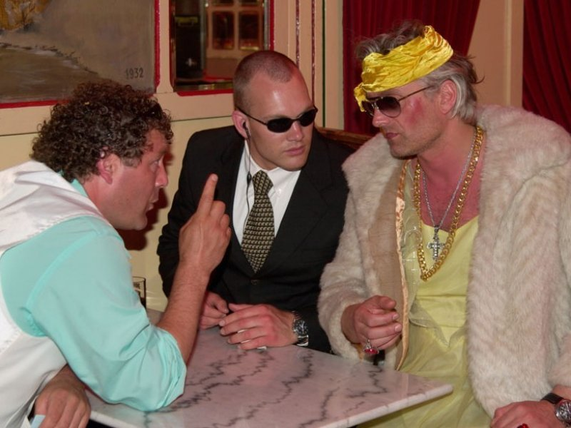 Italiaanse maffia familiefeest - bedrijfsuitje
