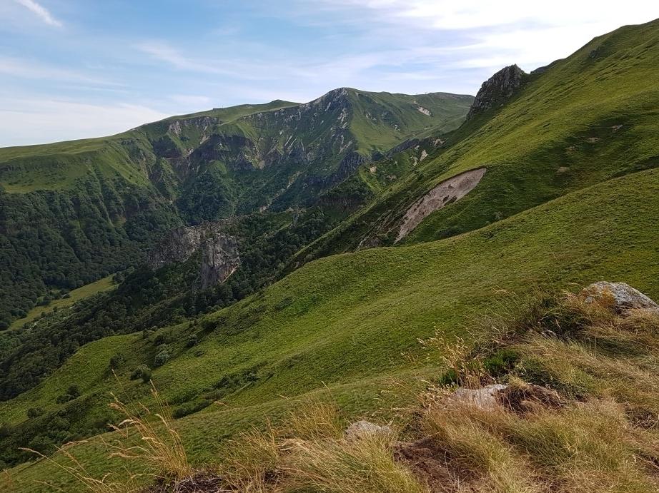 vallee de chaudefour van bovenaf gezien