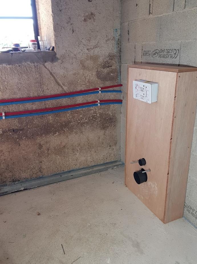 toilet installeren