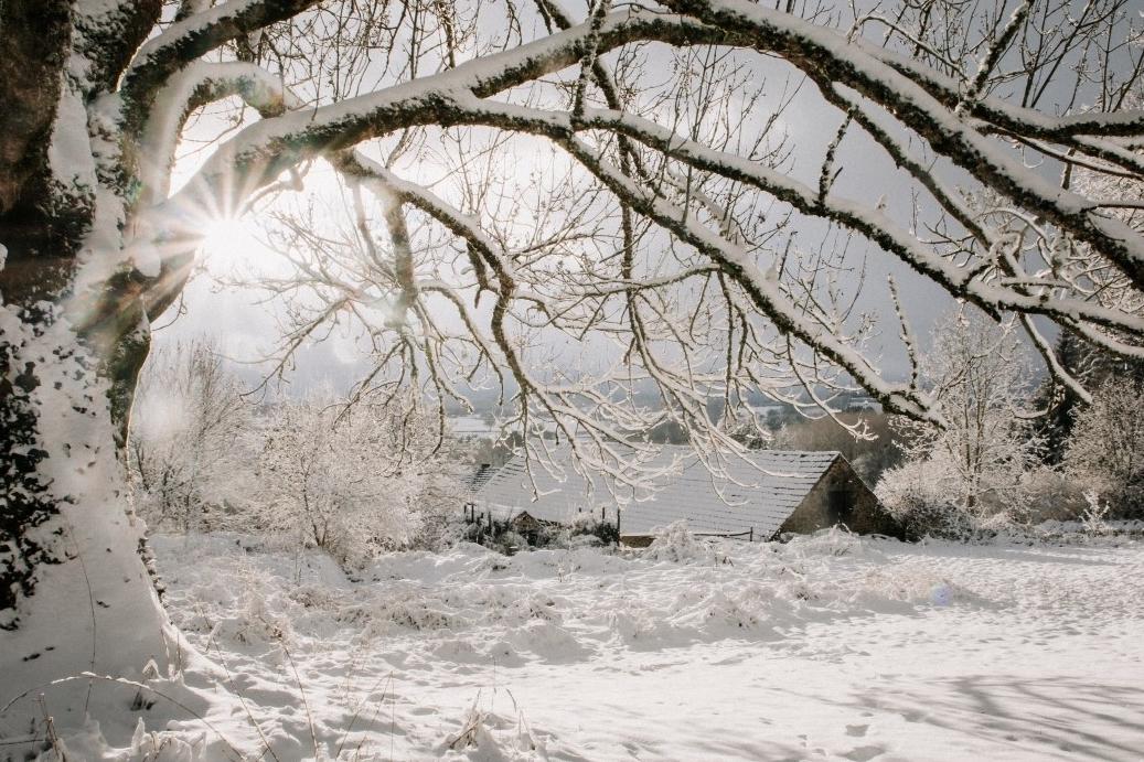 De gite maison qq op Domaie des Reves is deze winter bewoond door Paulien van de Werf van Outdoorinspiratie.nl